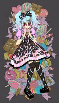 sugary carnival cadney by tea-and-dreams