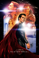 Man of Steel - Drew Struzan Style poster [Revised] by adityachakra