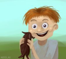 #7 - A puppy?? For me??! :-D by Neelai