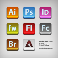adobe icons by dim45