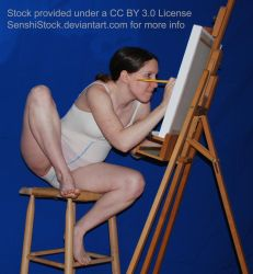 Painting [Reference for Drawing] by SenshiStock