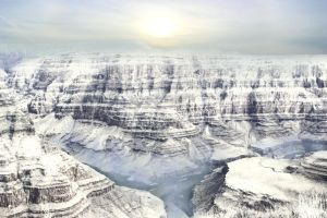 Cold Canyon by CAStock
