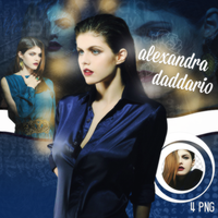 Alexandra Daddario Png Pack by DirtyBloodOfMomsen