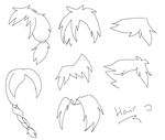 Guess the hair I think? by Gameaddict1234