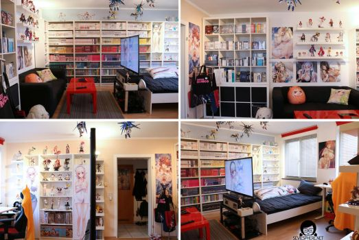Roomtour - My Oppai Heaven! :3 2015 by seviesphere