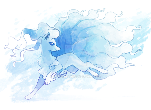 Alola Ninetales by CuteSkitty