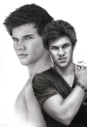 Taylor Lautner by D17rulez