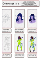 Commission Info,Prices and etc. by Bluence