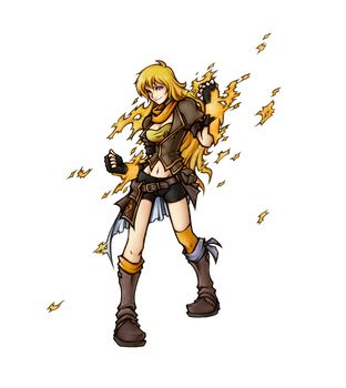 RWBY: Yang Xiao Long by isaiahjordan