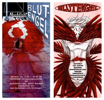 BlutEngel Alternative Poster set by sitres