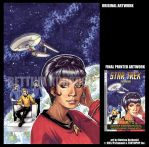 STAR TREK-TOS v2 - COVER by DreamworldStudio