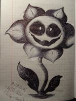 Flowey [Undertale] by Teti2000