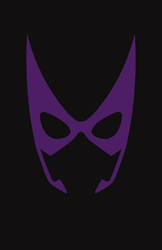 Huntress Mask Minimalist Design by burthefly