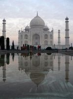 Taj Mahal, India by noledam