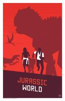 Jurassic World Poster by billpyle