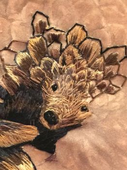 Pangolin WIP (face only) by badgersoph
