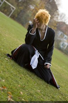 Ichigo Cosplay - Cursed Hollow by Berry-Cosplay