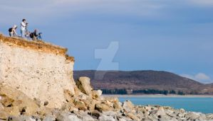 NZ- Lake Pukaki Lookout by EJSCreations