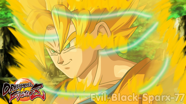 Dragon Ball FighterZ - Son Goku [Super Saiyan] by Evil-Black-Sparx-77