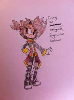 Emily the Hedgehog by angelchibivocaloid
