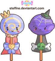 Sweet and Sour Lollypops by steffne