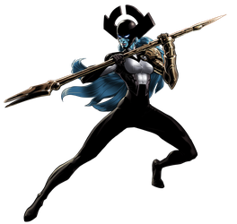 Marvel Avengers Alliance Proxima Midnight by ratatrampa87