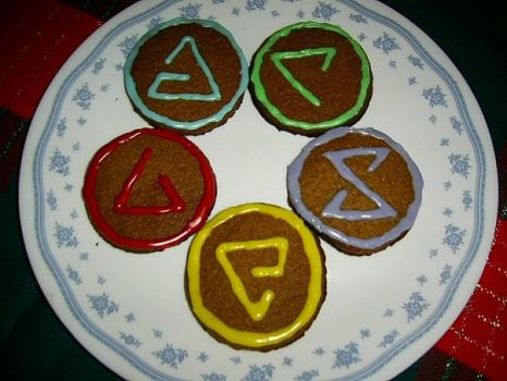 Witcher sign cookies by didi510