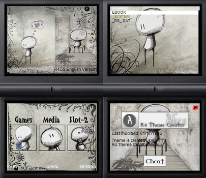 NDS theme: The Paper Wall by Reameth