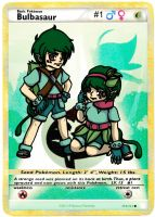 Pokemon Gijinka- #1 Bulbasaur by Ashes-fall-down