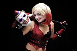 Harley and Her Puddin' by MaiseDesigns
