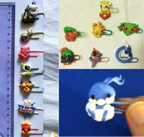 Pokemon Paper Clips