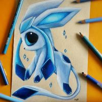 Glaceon by SkyKristal