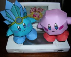 Kirby Papercraft by Tiffyx