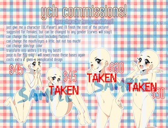UPDATE!!!! YCH commissions -OPEN- by harukatsune