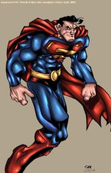 ::Superman by Qba-Colors Me:: by IvyBeth