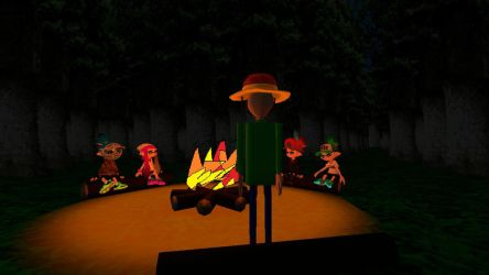 Gmod me and my friends go to camping by baldi's by superneung47