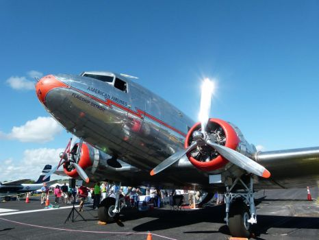 American Airlines DC3 by ecfield