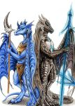 Two Warriors by xDunkelseelex
