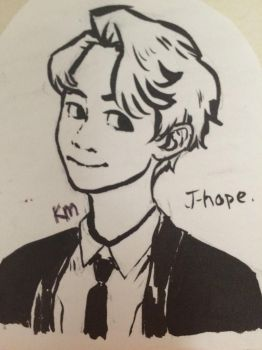 J-hope || BTS by TypicalArtGirl