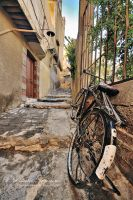 Old Bicycle by ashamandour
