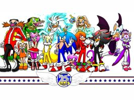 SONIC THE HEDGEHOG'S 25th ANNIVERSARY! by Natsumi-Nyan