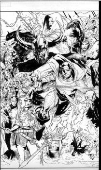 tales of asgard 2 cover by MarkMorales