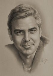 george clooney by krzysztof20d