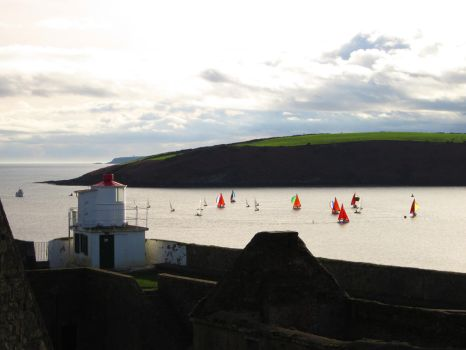 Fort Charles Sailing by fablehill