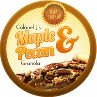 Maple Pecan Granola by Echilon