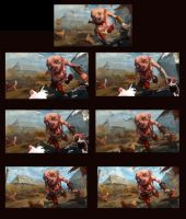 Uma witcher 3 step by step by vertry