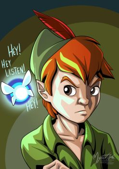 Navi on Peter Pan by mysticalpha