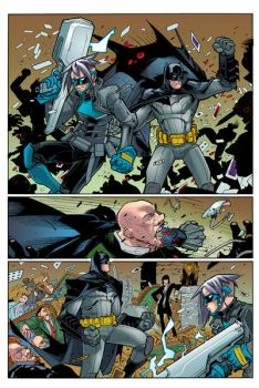 Batman Eternal 43-16 by johncharlesart