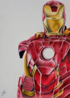 Iron Man by AyushSant