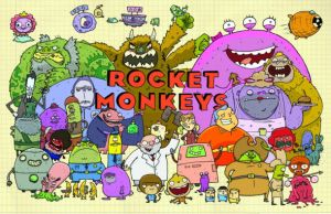 Rocket Monkeys Pilot Poster by TheLivingBluejay